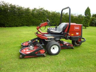 SOLD!!! TORO GROUND MASTER 3500D SIDEWINDER MOWER