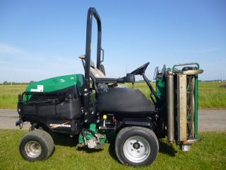 sold ! RANSOMES 3 TRIPLE GANG MOWER library pic