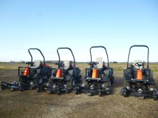 SOLD!!! JACOBSEN HR3300T OUTFRONT RIDE ON MOWER