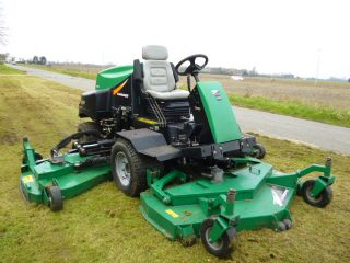 SOLD ! Ransomes HR6010 batwing  on mower diesel