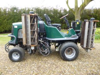 SOLD!!! HAYTER L424 RIDE ON GANG CYLINDER MOWER