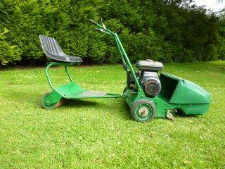 RANSOMES SUPER CERTES 61 WALK BEHIND BARN FIND