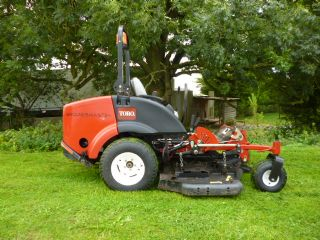 SOLD ! TORO 7210 ZERO TURN MOWER DIESEL ride on