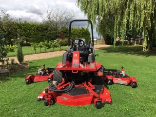 sold ! TORO 4000D BATWING MOWER