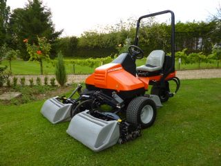 SOLD!!! JACOBSEN TRI KING TEES MOWER WITH BOXES