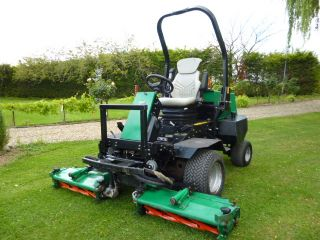 SOLD!!! RANSOMES 2130 TRIPLE GANG CYLINDER MOWER