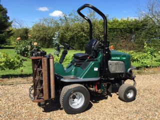 SOLD!!! HAYTER LT324 MOWER 10 HEADS DIESEL