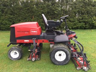 SOLD!!! TORO REEL MASTER 5410 FAIRWAY MOWER