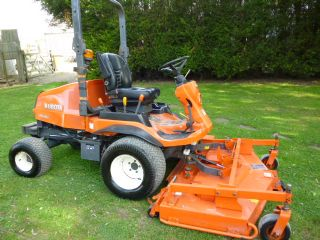 SOLD!!! KUBOTA F3680 YEAR 2012  FRONT MOWER ROTARY