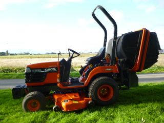 SOLD!!! KUBOTA BX2200 COMPACT TRACTOR MOWER WITH C