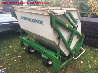 SOLD!!! AMAZONE 150 FLAIL COLLECTOR TRACTOR