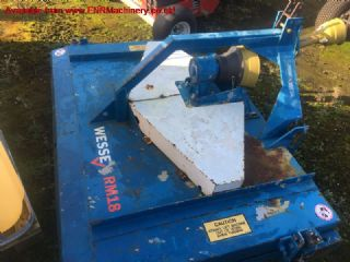 SOLD!!! WESSEX RM1.8 ROLLER MOWER FOR COMPACT TRAC