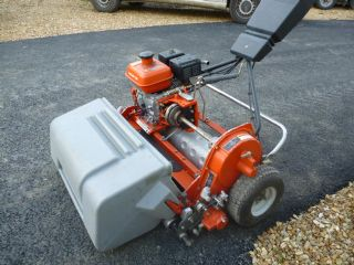 SOLD!!! JACOBSEN TEES GREENS WALK BEHIND MOWER WIT