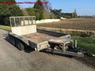 SOLD!!! IFOR WILLIAMS GX106 10FT PLANT TRAILER 3.5