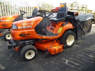 SOLD!!! KUBOTA G21E DIESEL RIDE ON MOWER COLLECTIO