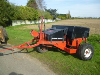 SOLD!!! TORO TRAILED CORE AERATOR TRACTOR TOW