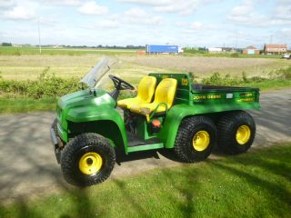 SOLD!!! JOHN DEERE GATOR 6X4 DIESEL POWER TIP