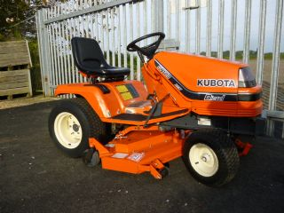 SOLD!!! KUBOTA G1700 RIDE ON MOWER NEW DECK