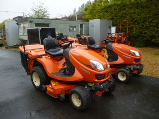 SOLD!!! KUBOTA GR2120 RIDE ON MOWER