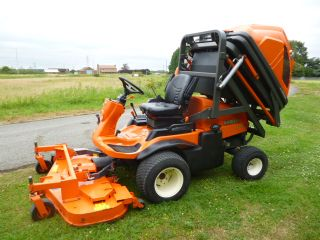 SOLD!!! KUBOTA F2880 RIDE ON MOWER COLLECTOR HIGH