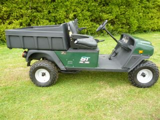 SOLD!!! E Z GO ST 480 UTILITY BUGGY PETROL
