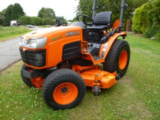 SOLD!!! KUBOTA B2530 COMPACT TRACTOR MID MOUNTED M
