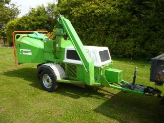 SOLD!!! GREENMECH WOOD CHIPPER CM180