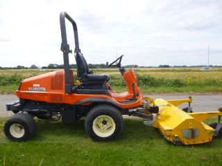 SOLD!!! KUBOTA F3860 RIDE ON MOWER FLAIL