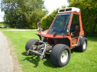 SOLD!!! AEBI TT70S TRACTOR BANK MOWER 4X4 AIR CON