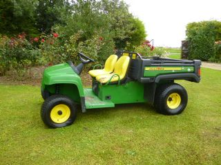 SOLD!!! JOHN DEERE E GATOR BATTERY POWER UTILITY