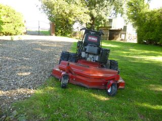 SOLD!!! TORO RD 48 ROUGH CUTTER PETROL WALK BEHIND