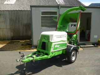 SOLD!!! GREENMECH ECO ARBORIST WOOD CHIPPER PERKIN