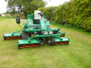 SOLD!!! RANSOMES COMMANDER 3520 2009 5 GANG MOWER