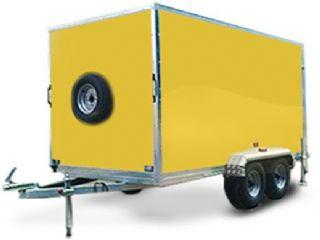 TWIN AXLE BOX TRAILER 7X5X6