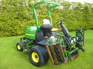 SOLD!!! JOHN DEERE 7700 FAIRWAY MOWER