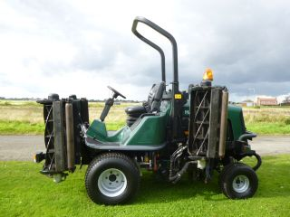 sold ! HAYTER T424 09 5 GANG MOWER 4X4