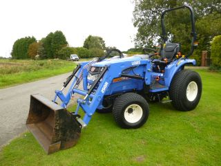 SOLD!!! ISEKI TH 4335 COMPACT TRACTOR WITH LOADER