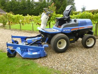 SOLD!!! ISEKI SF370 RIDE ON MOWER 404 HOURS 4X4