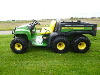 SOLD!!! JOHN DEERE GATOR 6X4 DIESEL POWER TIP NEW