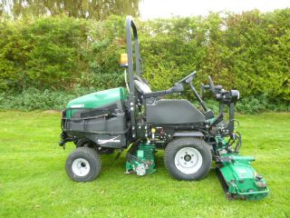 SOLD!!! RANSOMES HIGHWAY 3 TRIPLE GANG MOWER