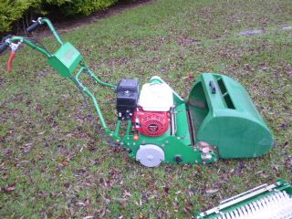 SOLD!!! DENNIS FT510 WALK BEHIND CYLINDER MOWER