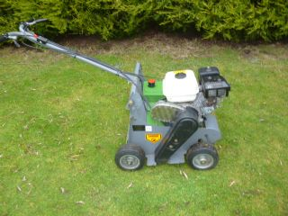 SOLD!!! ALLETT SCARIFIER WALK BEHIND MOWER