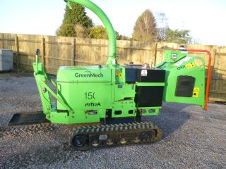 GREENMECH ARBTRACK 150 CHIPPER TRACKS PLATFORM