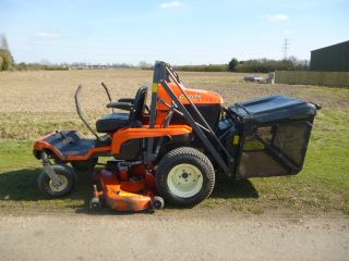 SOLD!!! KUBOTA GZD21  HIGH TIP COLLECTOR