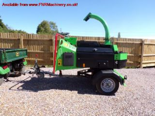 GREENMECH QUADCHIP 160 SINGLE AXLE CHIPPER