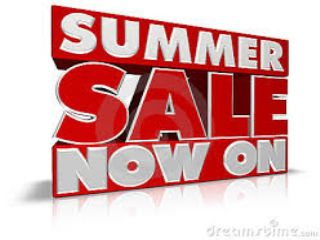 SUMMER SALE NOW ON CALL FOR BIG DISCOUNTS
