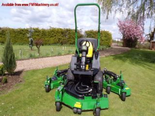 sold ! JOHN DEERE 1600 WAM TURBO MOWER 2011