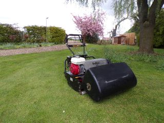 SOLD!!! ALLETT 34 BUFFALO MOWER