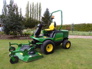 SOLD!!! JOHN DEERE 1545 OUTFRONT MOWER 2012