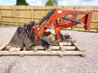 LEWIS LOADER 2510 WITH 4 IN 1 GRAB BUCKET COMPACT